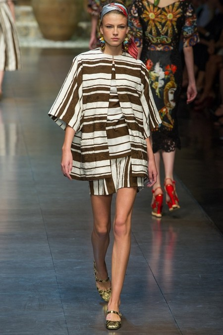 Сицилия от Dolce & Gabbana - женская коллекция весна-лето 2013 — фото 56
