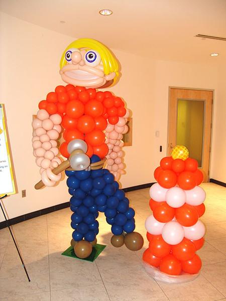 Твистинг – скульптуры из воздуха, или надувательство ))) Фигуры из воздушных шариков — фото 19