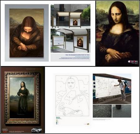 Улыбка Моны Лизы … на рекламных постерах. Новые идеи на вечную тему. — фото 1