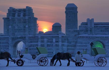Фестиваль Ледяных дворцов в китайском Харбине – зимняя сказка — фото 26