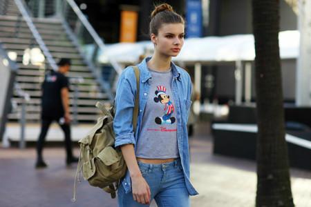 Ода джинсовой рубашке – сочиняем образы — фото 10