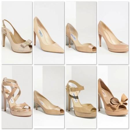 Туфли цвета «нюд» - новая классика! С чем носить, как комбинировать — фото 90