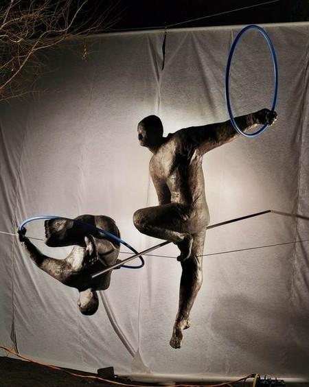 Скульптуры в воздухе от Jerzy Kedziora — фото 21
