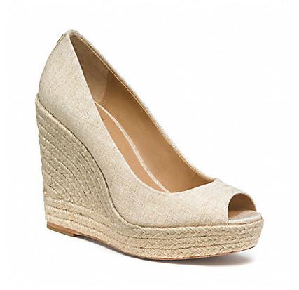Коллекция обуви от Coach весна-лето 2013 – каблуки, платформа, мокасины, сандалии! — фото 8