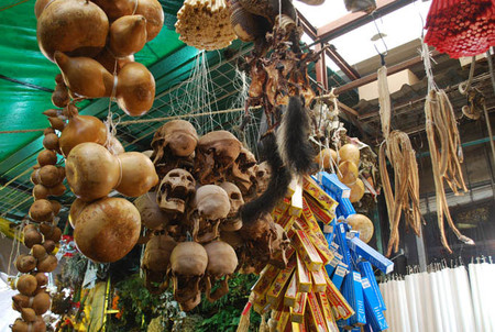 Большой рынок товаров для колдовства в Мексике — фото 13