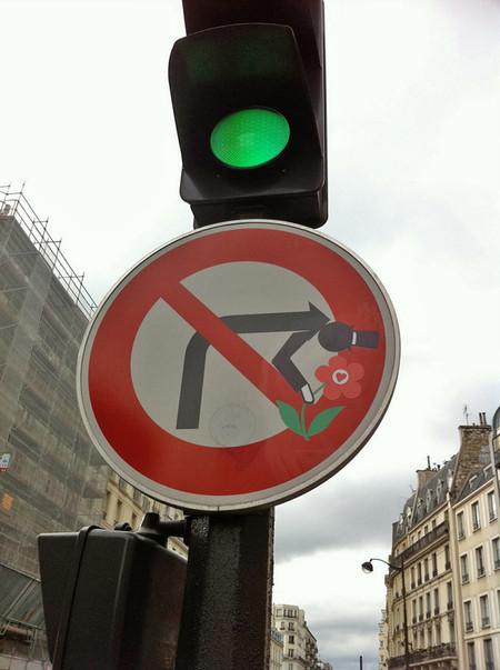 «Улучшенные» дорожные знаки от Клета Авраама — фото 22