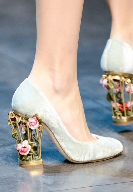 Dolce & Gabbana осень-зима 2013-2014 – когда всего слишком много — фото 99