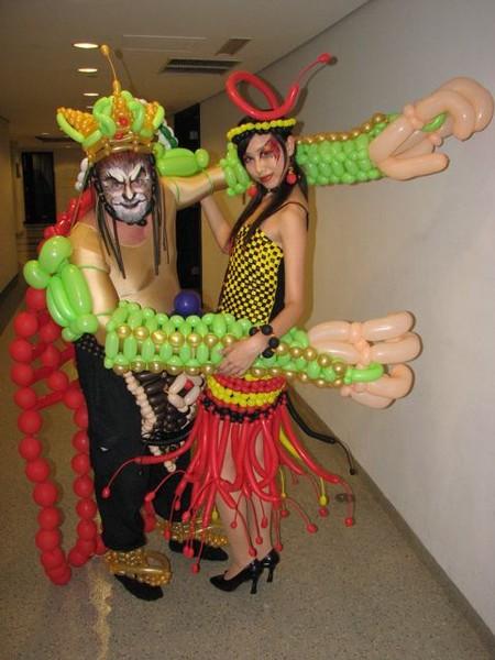 Твистинг – скульптуры из воздуха, или надувательство ))) Фигуры из воздушных шариков — фото 33
