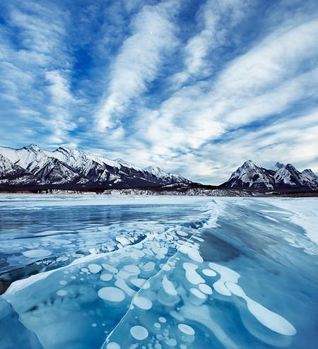 Как в заледеневшей сказке: озеро Авраама в Канаде — фото 11