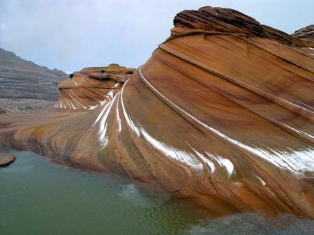 Аризонская Волна – уникальный природный пейзаж — фото 9