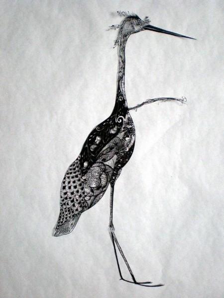Кружева из бумаги – ювелирные работы Хины Аоямы — фото 37