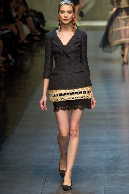 Сицилия от Dolce & Gabbana - женская коллекция весна-лето 2013 — фото 67