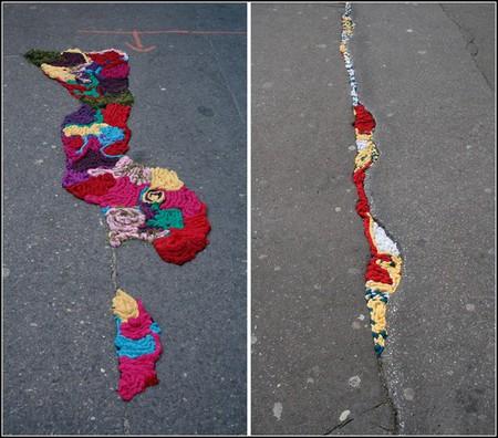 Эх, дороги… Красивый способ привлечь внимание к ямам и ухабам — фото 4