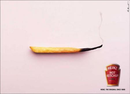 Реклама кетчупа Heinz – сразу понятно, что он острый! — фото 1