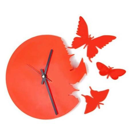 Что общего у времени и бабочек? Разгадка – в часах Butterfly clock — фото 11