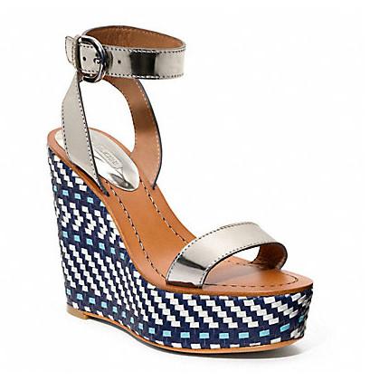 Коллекция обуви от Coach весна-лето 2013 – каблуки, платформа, мокасины, сандалии! — фото 25