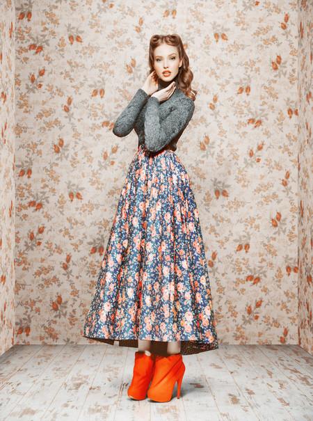 Ретро-осень – коллекция Ульяны Сергеенко — фото 23