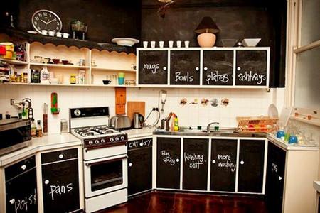 Школьная доска – часть интерьера кухни, детской, спальни и т.д. — фото 7