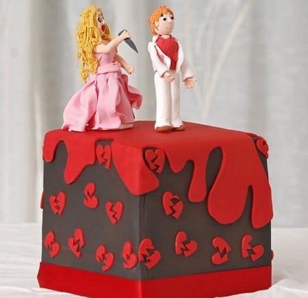 Отпразднуем … развод? Антисвадебные торты от Фэй Миллар — фото 15
