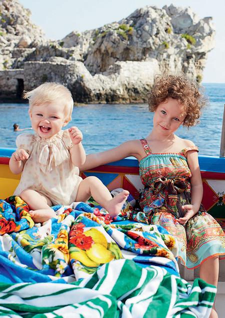 Самым любимым – детская коллекция Dolce&Gabbana весна-лето 2013 — фото 21
