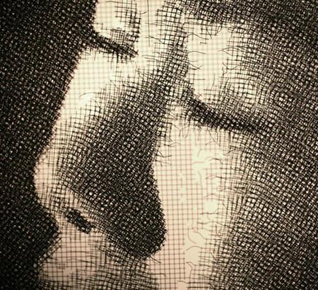 Скульптор, работающий с проволочной сеткой – Сон Мо Парк — фото 9