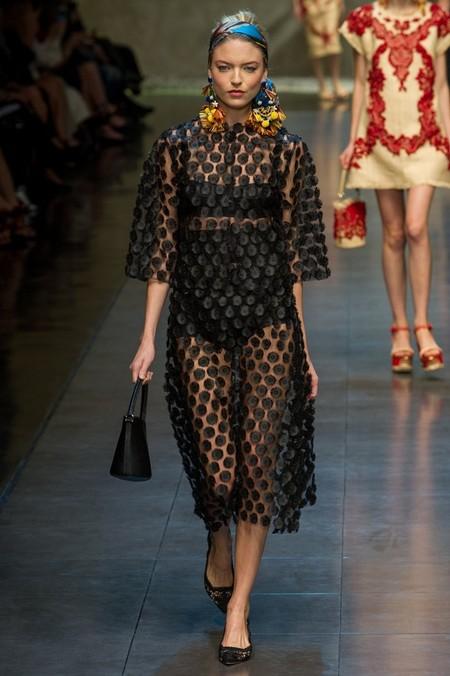 Сицилия от Dolce & Gabbana - женская коллекция весна-лето 2013 — фото 25