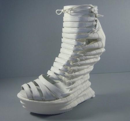 Обувь Еxoskeleton, распечатанная и хищная — фото 8