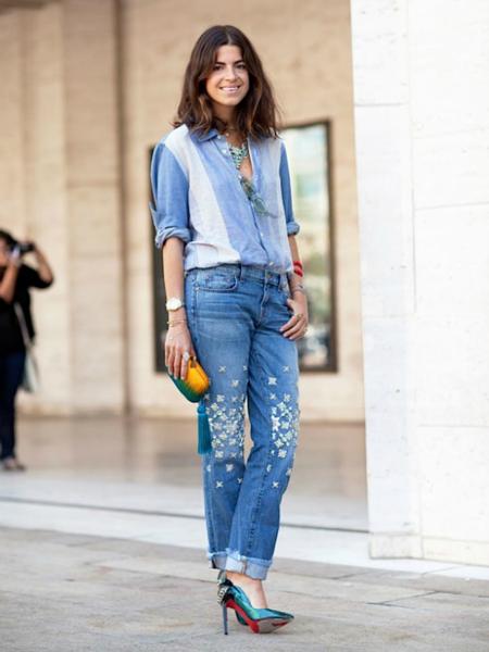 Ода джинсовой рубашке – сочиняем образы — фото 13