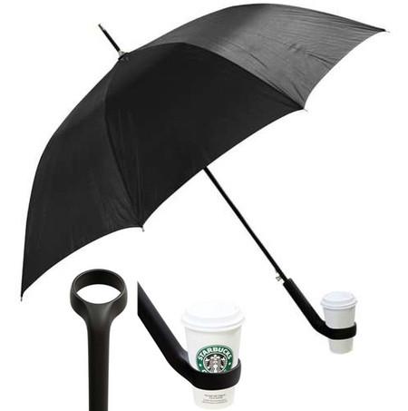 Зонт с подстаканником