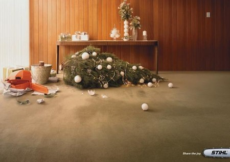 STIHL — хороший подарок к Новому году, который можно проверить прямо не отходя от елки