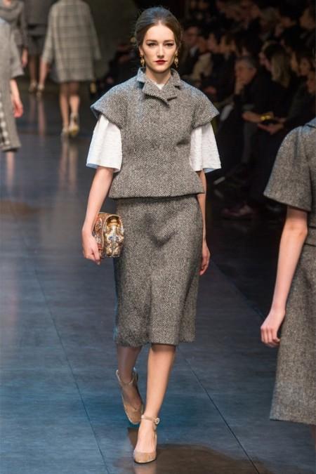 Dolce & Gabbana осень-зима 2013-2014 – когда всего слишком много — фото 30
