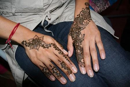 Менди – украшение не только для индийских принцесс — фото 30