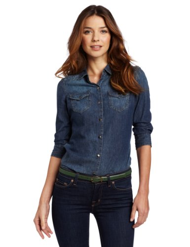 Ода джинсовой рубашке – сочиняем образы — фото 4