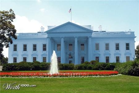 Белый… пардон, Голубой Дом