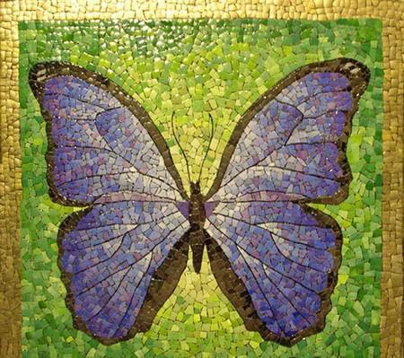 Мозаика из яичной скорлупы Любови Мешакиной — фото 17