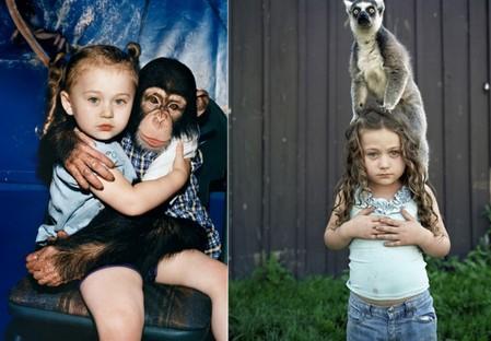 Фотопроект Amelia's world – животные в мире одной девочки — фото 33