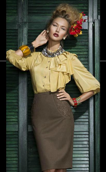 Весенняя коллекция 2013 от M.Reason – модные фантазии российских модельеров — фото 5