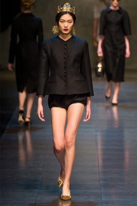 Dolce & Gabbana осень-зима 2013-2014 – когда всего слишком много — фото 51