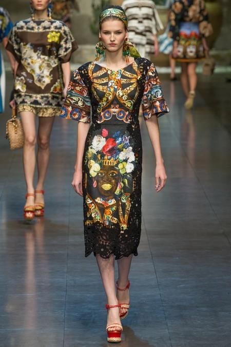 Сицилия от Dolce & Gabbana - женская коллекция весна-лето 2013 — фото 7