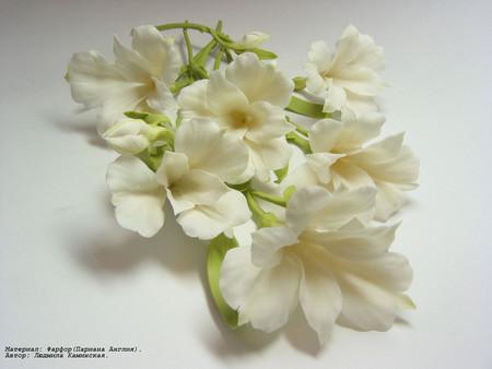 Цветы фарфоровые… не верится