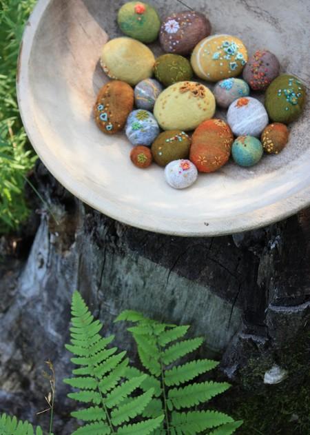 Маленькие войлочные штучки от Лизы Джордан — фото 18