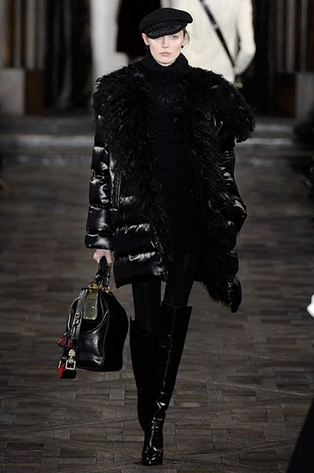 Коллекция Ralph Lauren осень-зима 2013-2014 – эпохе Анны Карениной посвящается — фото 21