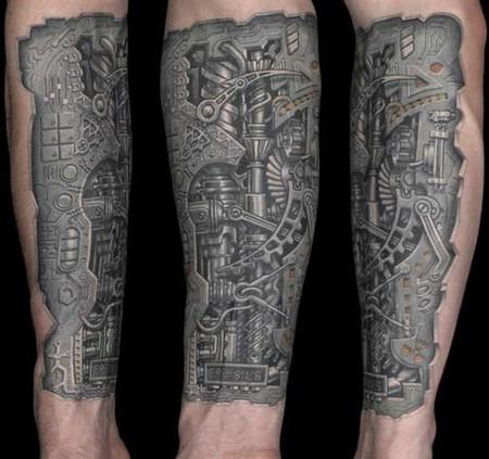 Татуировки в формате 3D – искусство или …? — фото 32
