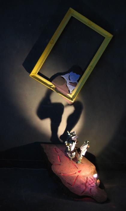 Танцы с тенью – скульптуры Diet Wiegman — фото 14