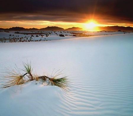 Это не снежная бесконечность. Это пустыня, которую любят туристы