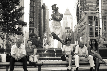 Арт-проект «Танцоры среди нас» Джордана Мэттера (Jordan Matter) — фото 19