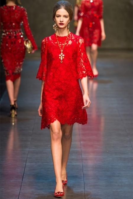 Dolce & Gabbana осень-зима 2013-2014 – когда всего слишком много — фото 66
