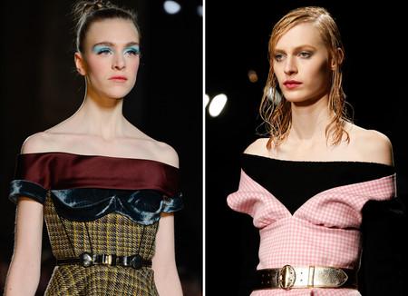 Открытые плечи – модная волна весны 2013 — фото 48