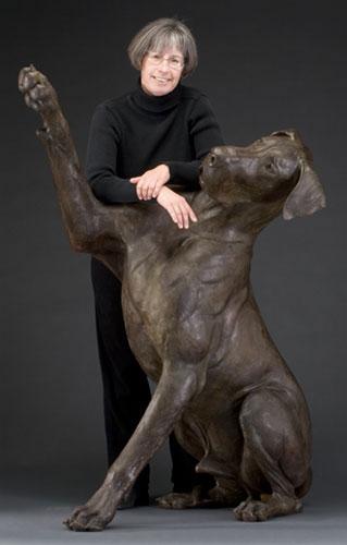 Луиза Петерсон (Louise Peterson) и ее музы – датские доги — фото 9