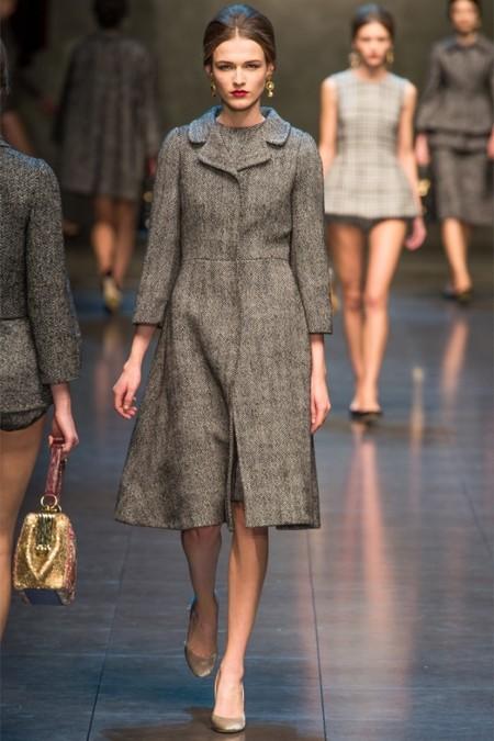 Dolce & Gabbana осень-зима 2013-2014 – когда всего слишком много — фото 22